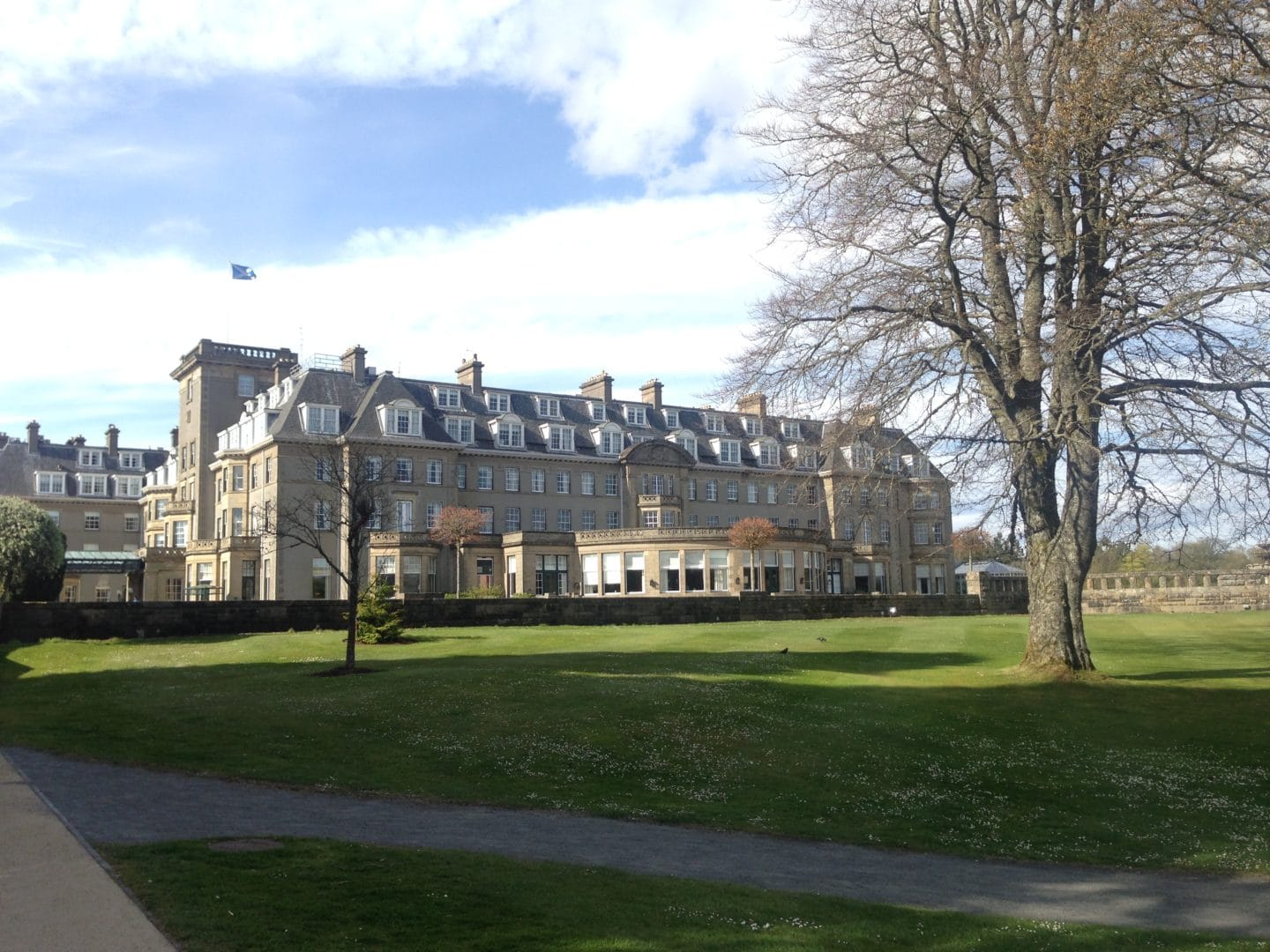 Make Events | Coporate Events Company North West | Event Image The exterior of the Gleneagles Hotel