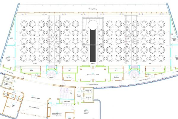 Make Events | Communication Events Company Manchester | The Point Floorplan