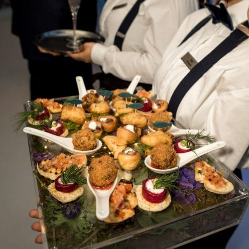 Make Events | Communication Events Company Manchester | Canapes