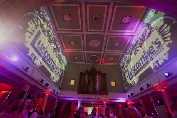 Make Events | Events Company Manchester | Ceiling at Luscombe's Event
