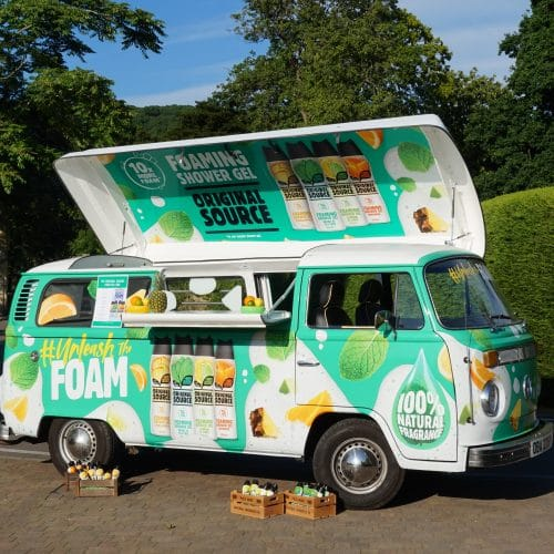 Make Events | Full Service Event Management And Venue Finding Manchester | Branded Van