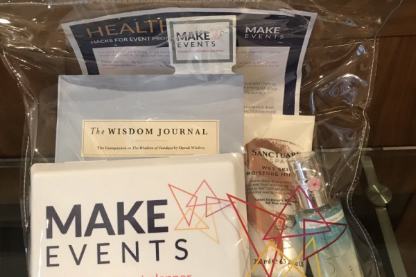 Make Events | Full Service Event Management Manchester | Welcome Packs