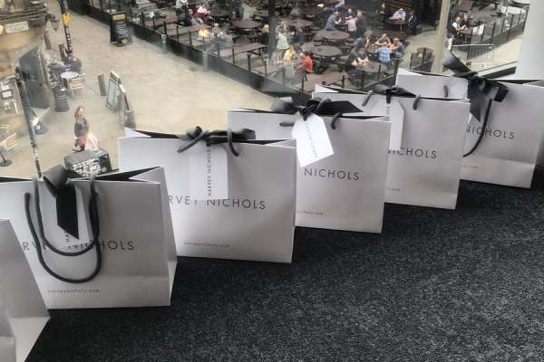 Make Events | Full Service Event Management Manchester | Harvey Nichols Beauty Hall Gifts