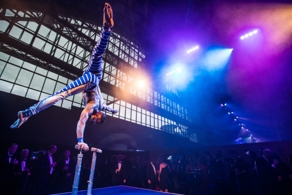 Make Events | Events Company Manchester | Hand Balancer