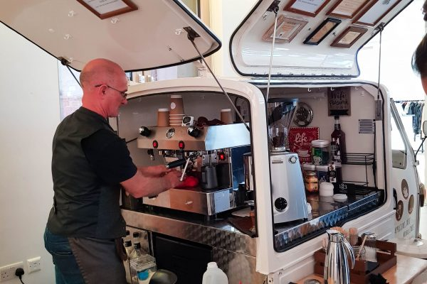 Make Events | Events Company Manchester | Coffee stand