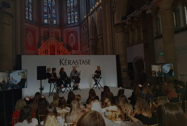 Make Events | Events Company Manchester | Kerastase in Cathedral
