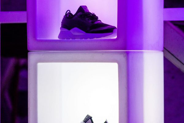 Make Events | Events Company Manchester | Puma Shoes Display
