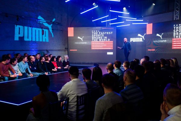 Make Events | Events Company Manchester | Puma Speaker