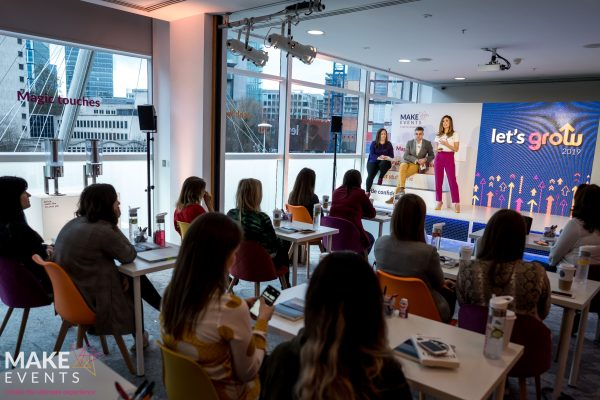 Make Events | Events Company Manchester | Let's Grow audience