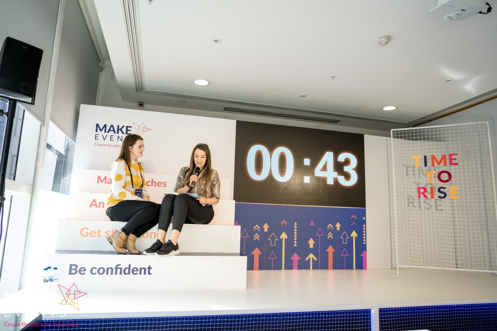 Make Events | Events Company Manchester | Be confident stand