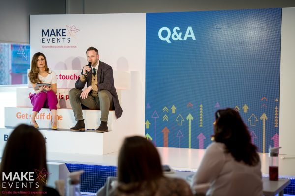 Make Events | Events Company Manchester | Q and A session