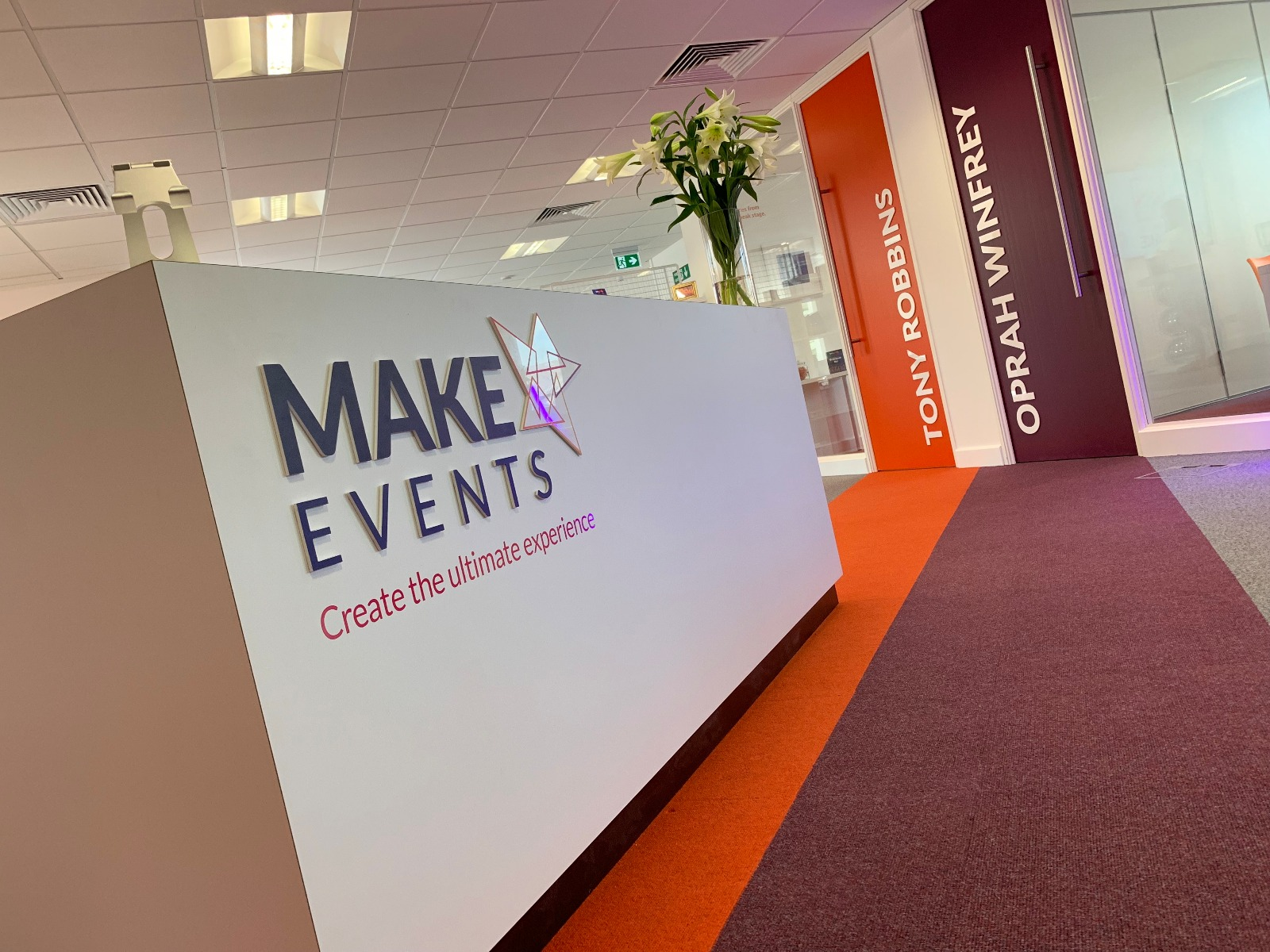 Make Events | Events Company Manchester | New Office
