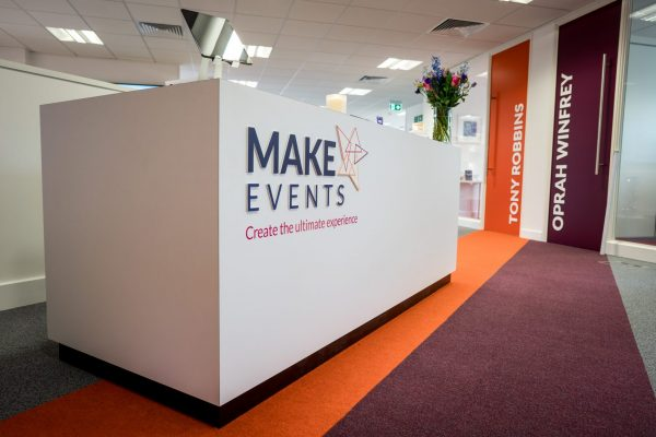 Make Events | Events Company Manchester | Office Foyer