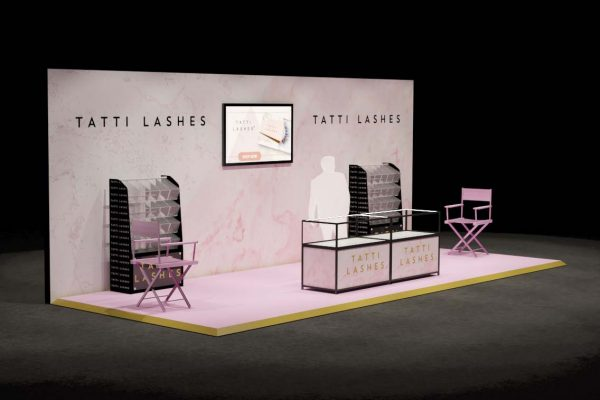 Make Events | Events Company Manchester | Tatti Lashes Retail Stand