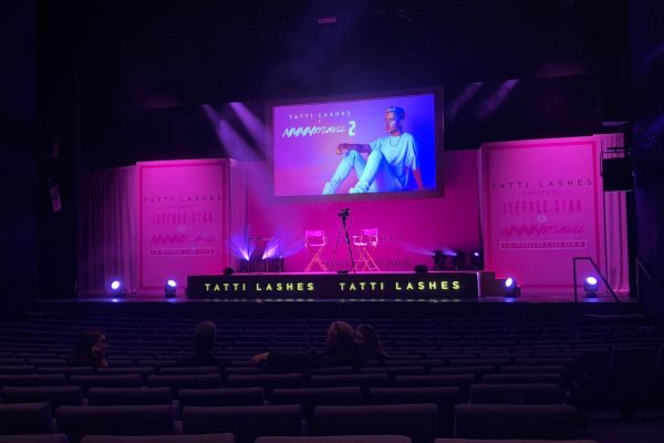 Make Events | Events Company Manchester | Tatti Lashes Stage Set