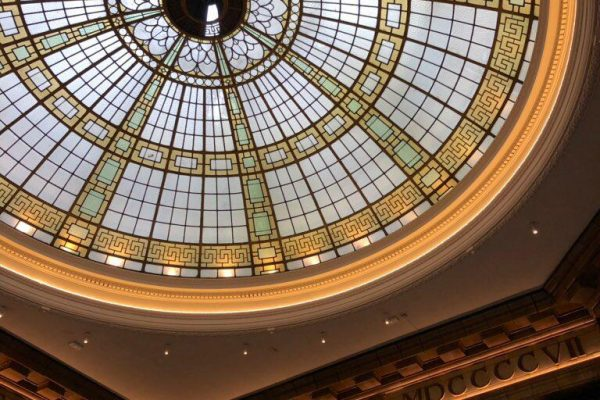 Make Events | Events Company Manchester | Stained Glass Ceiling