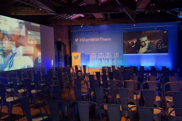 Make Events | Events Company Manchester | Start With Them Conference Set Up