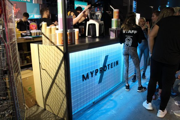 Make Events | Events Company Manchester | My Protein drinks bar