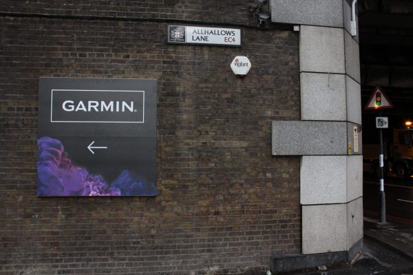 Make Events | Events Company Manchester | Garmin outdoor signage