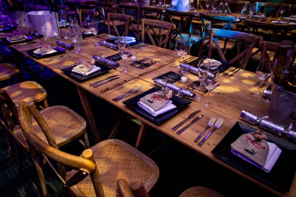 Make Events | Events Company Manchester | Puma table settings