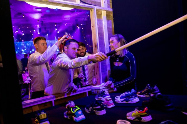 Make Events | Events Company Manchester | Hook a trainer booth
