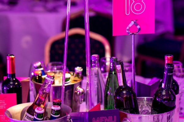 Make Events | Events Company Manchester | Table and Drinks