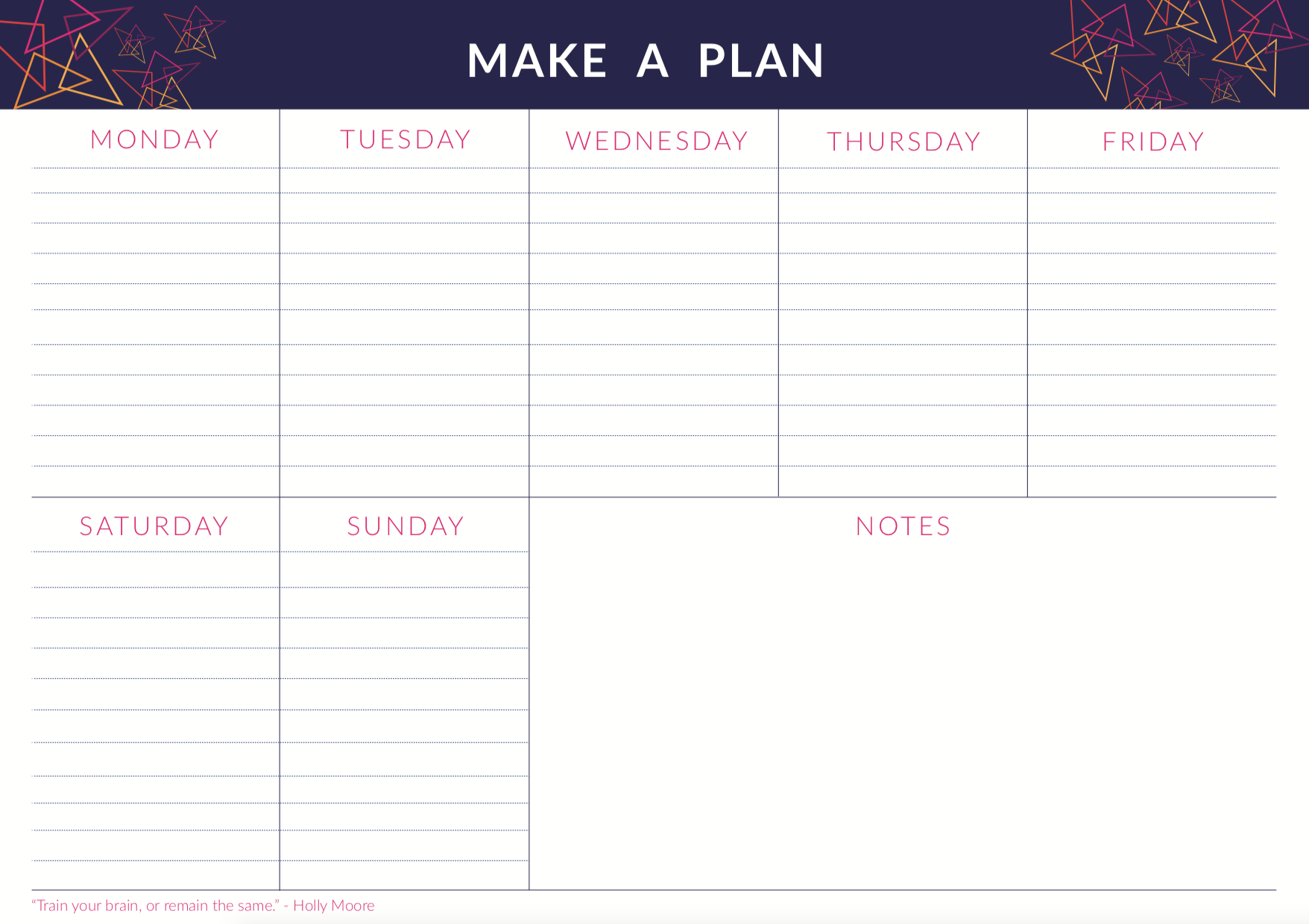 Make Events | Corporate and Virtual Events Company Manchester | Make a plan
