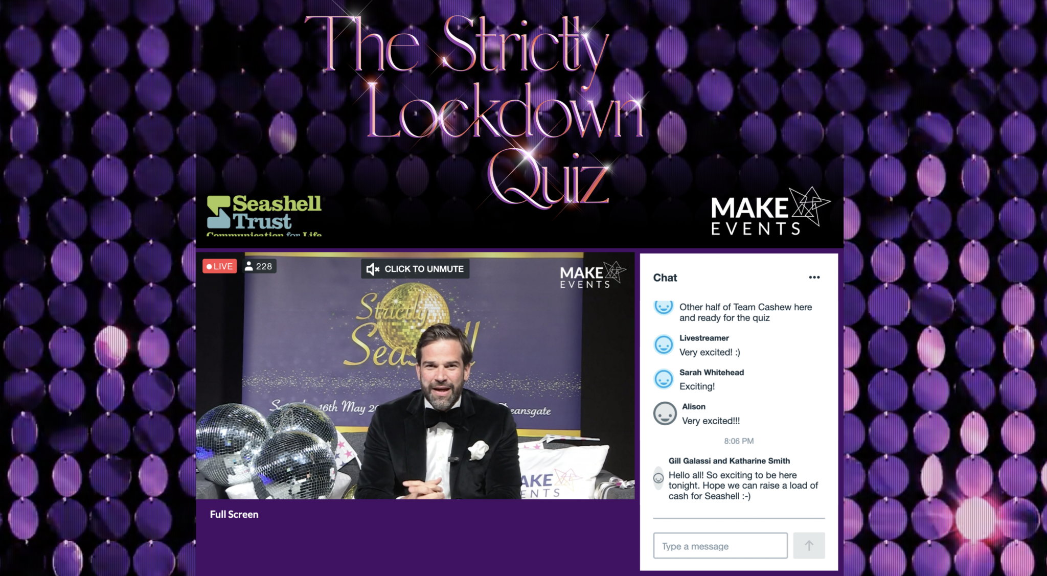 Make Events | Corporate and Virtual Events Company Manchester | Strictly Lockdown Quiz