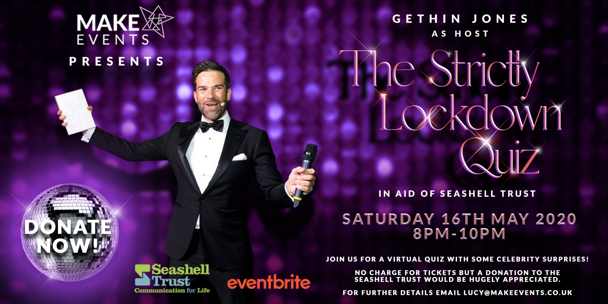 Make Events | Corporate and Virtual Events Company Manchester | The Strictly Lockdown Quiz