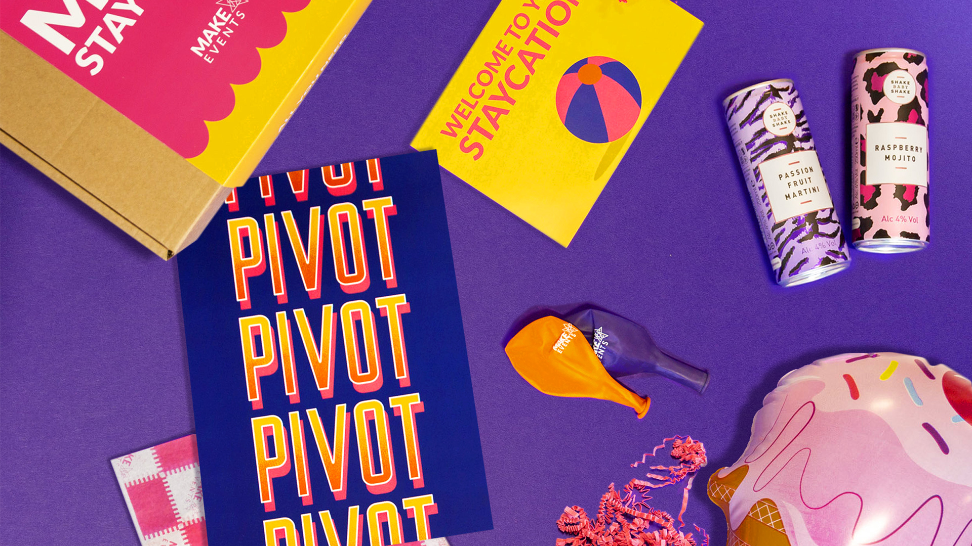Make Events | Corporate and Virtual Events Company Manchester | Pivot merchandise