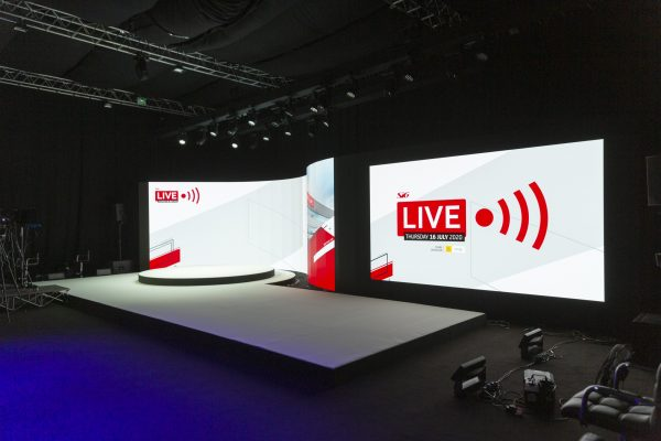 Make Events | Corporate and Virtual Events Company Manchester | Virtual Conference Stage
