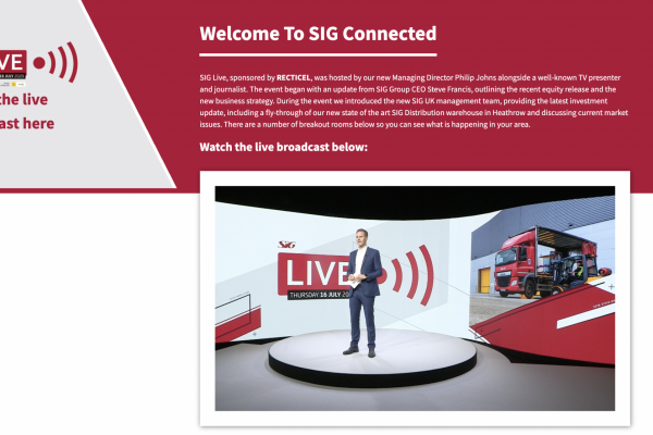Make Events | Corporate and Virtual Events Company Manchester | SIG Live Virtual Conference