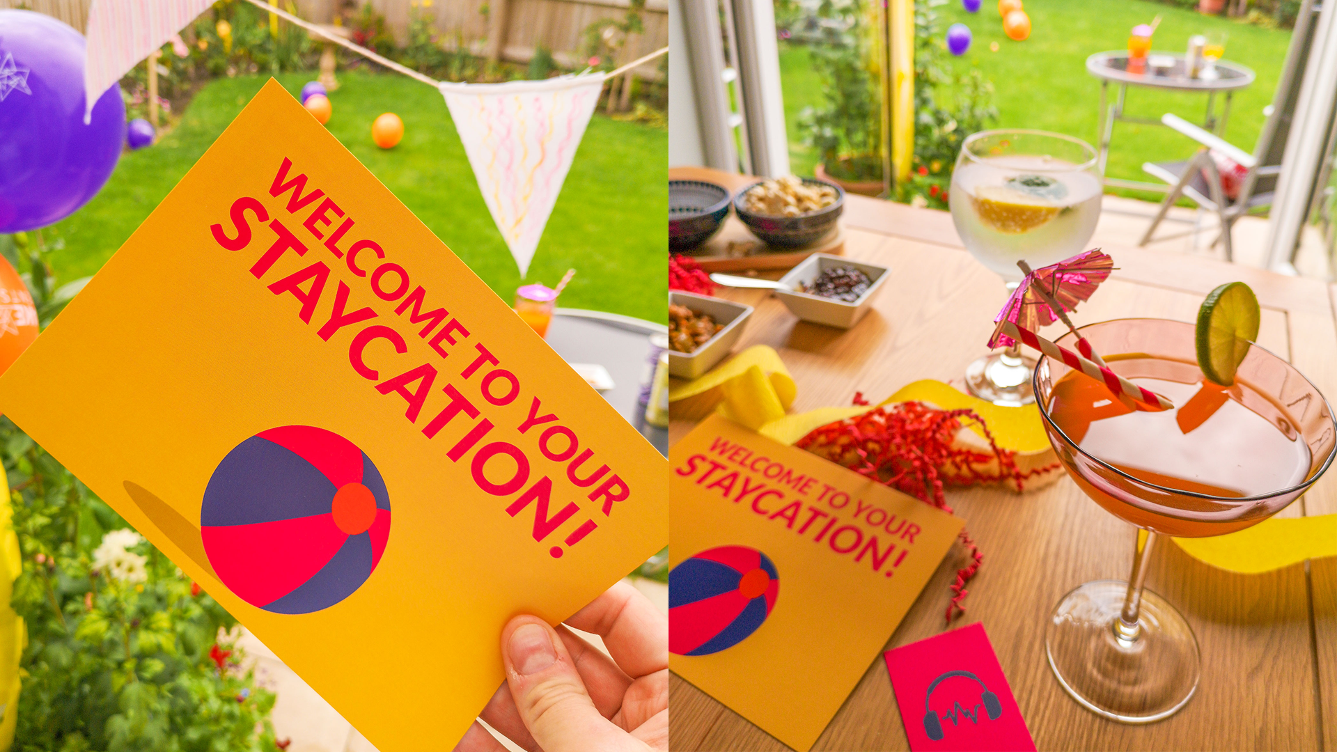 Make Events | Corporate and Virtual Events Company Manchester | Staycation invitation