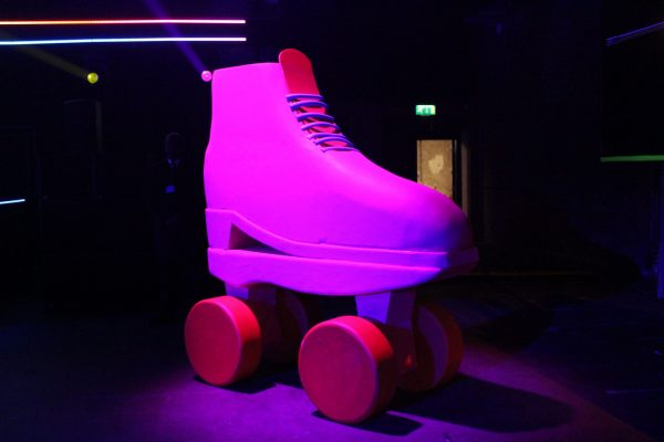 Make Events | Corporate and Virtual Events Company Manchester | Roller skate prop