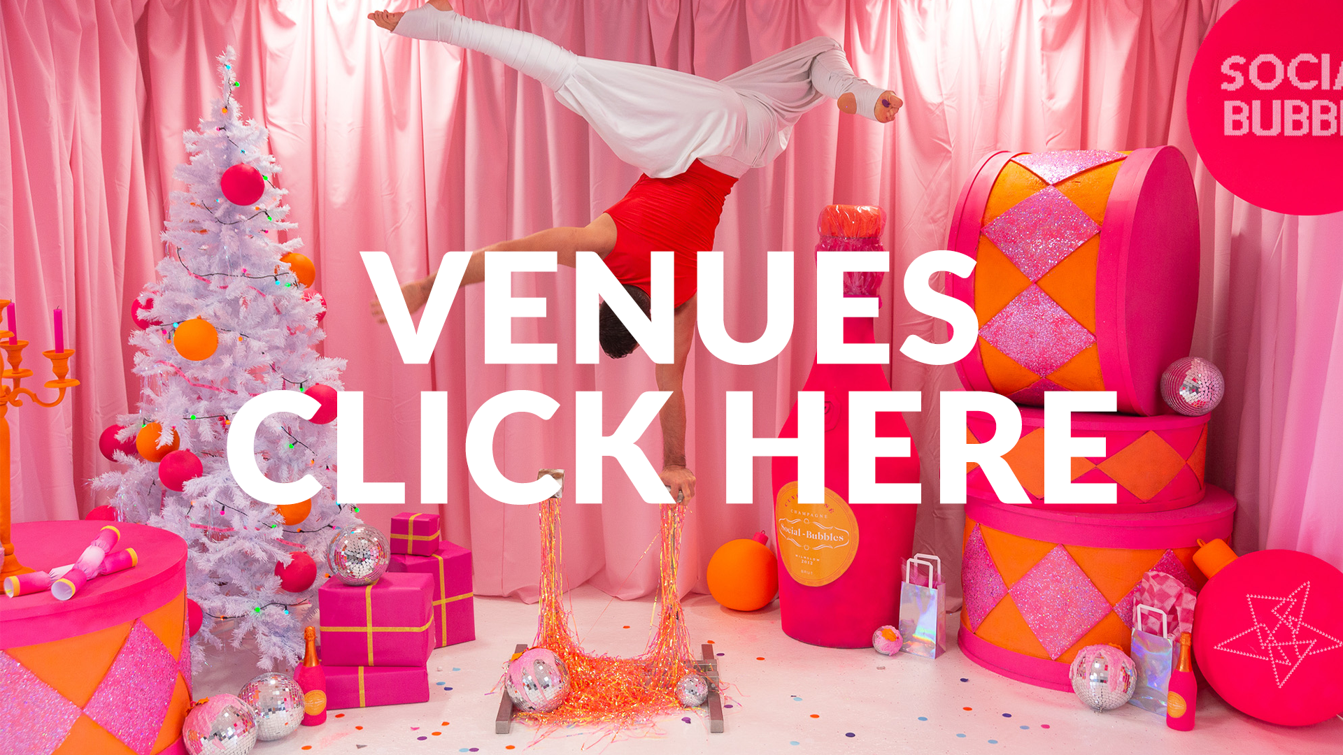 Make Events | Corporate and Virtual Events Company Manchester | Venues Click Here flyer