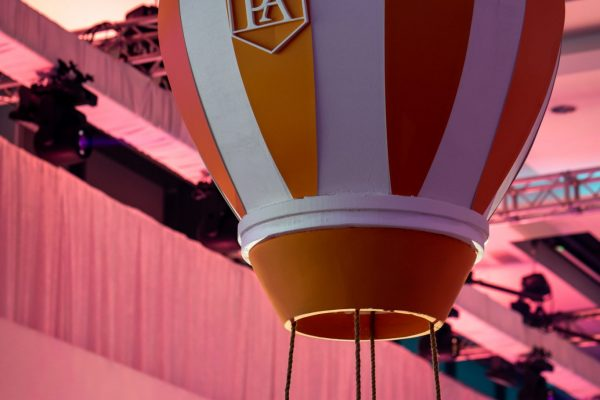 Make Events | Corporate and Virtual Events Company Manchester | Hot air balloon prop