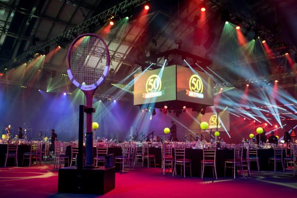 Make Events | Corporate and Virtual Events Company Manchester | Tennis racquet prop