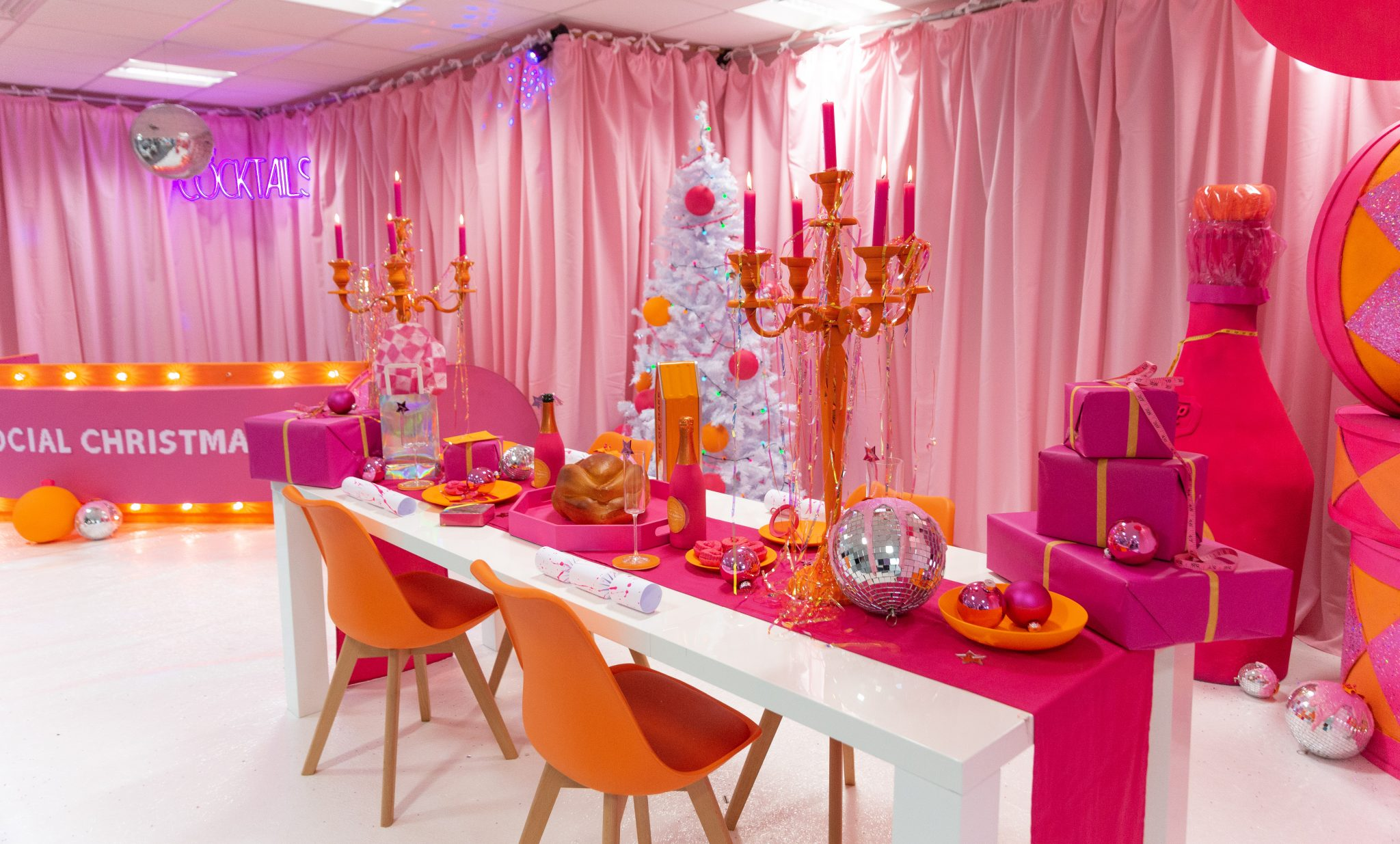 Make Events | Corporate and Virtual Events Company Manchester | Christmas table