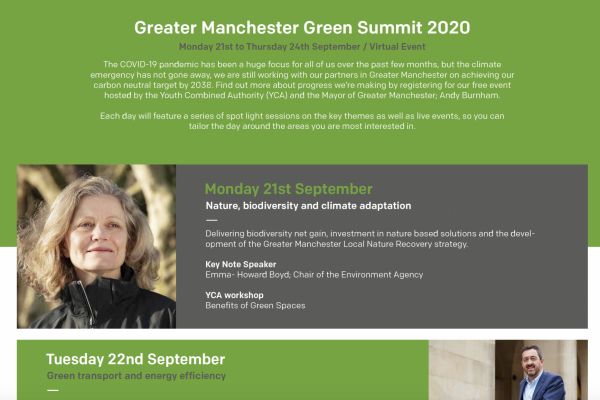 Make Events   Corporate and Virtual Events Company Manchester   Green Summit image