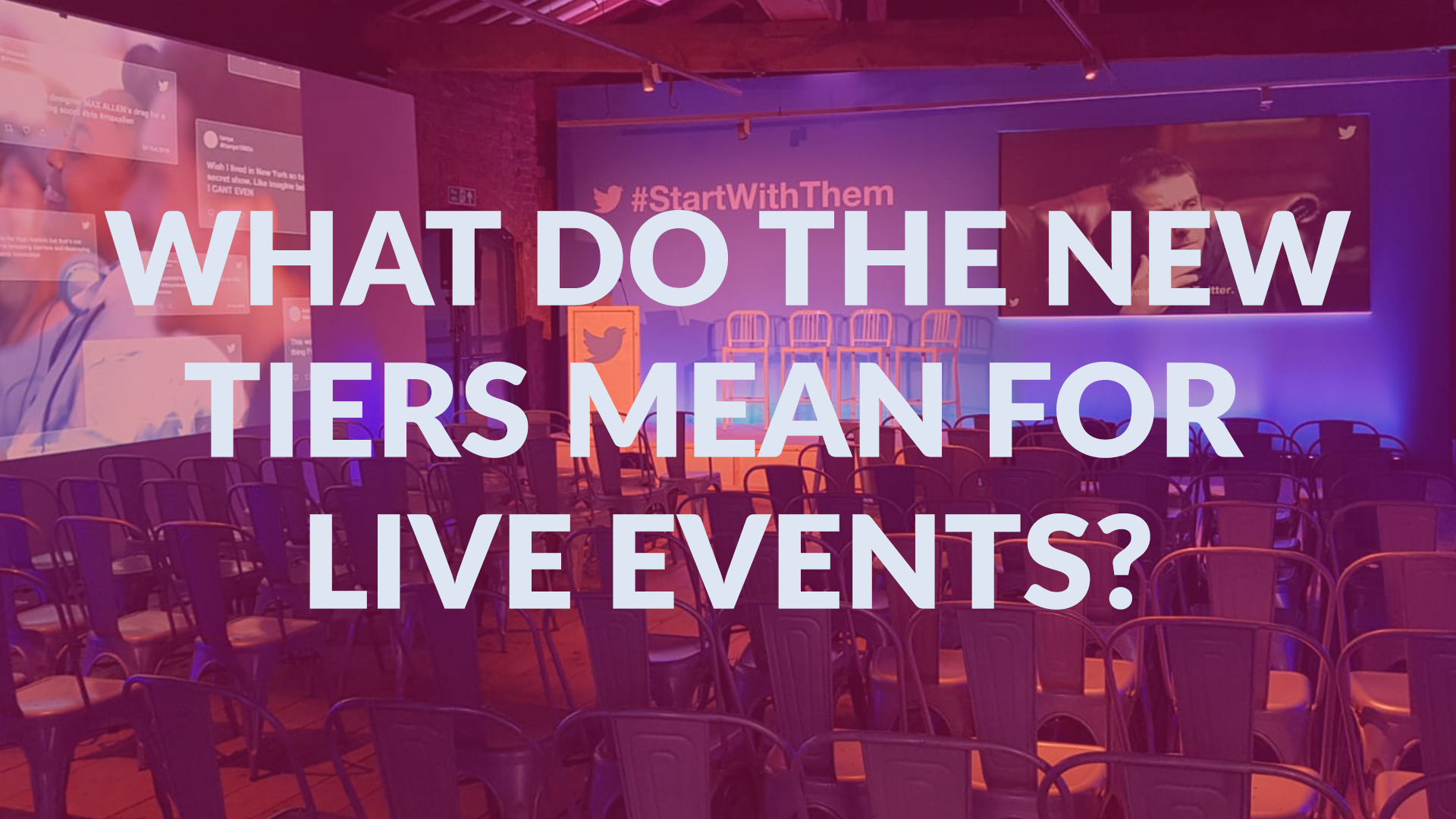 Make Events | Corporate and Virtual Events Company Manchester | Rows of Chairs