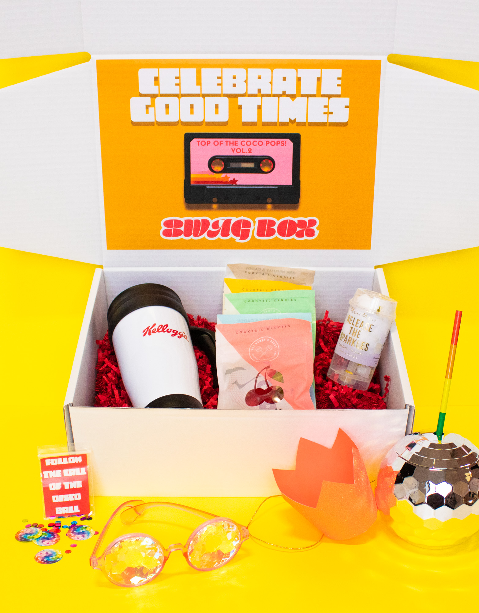 Make Events | Corporate and Virtual Events Company Manchester | Kelloggs party box