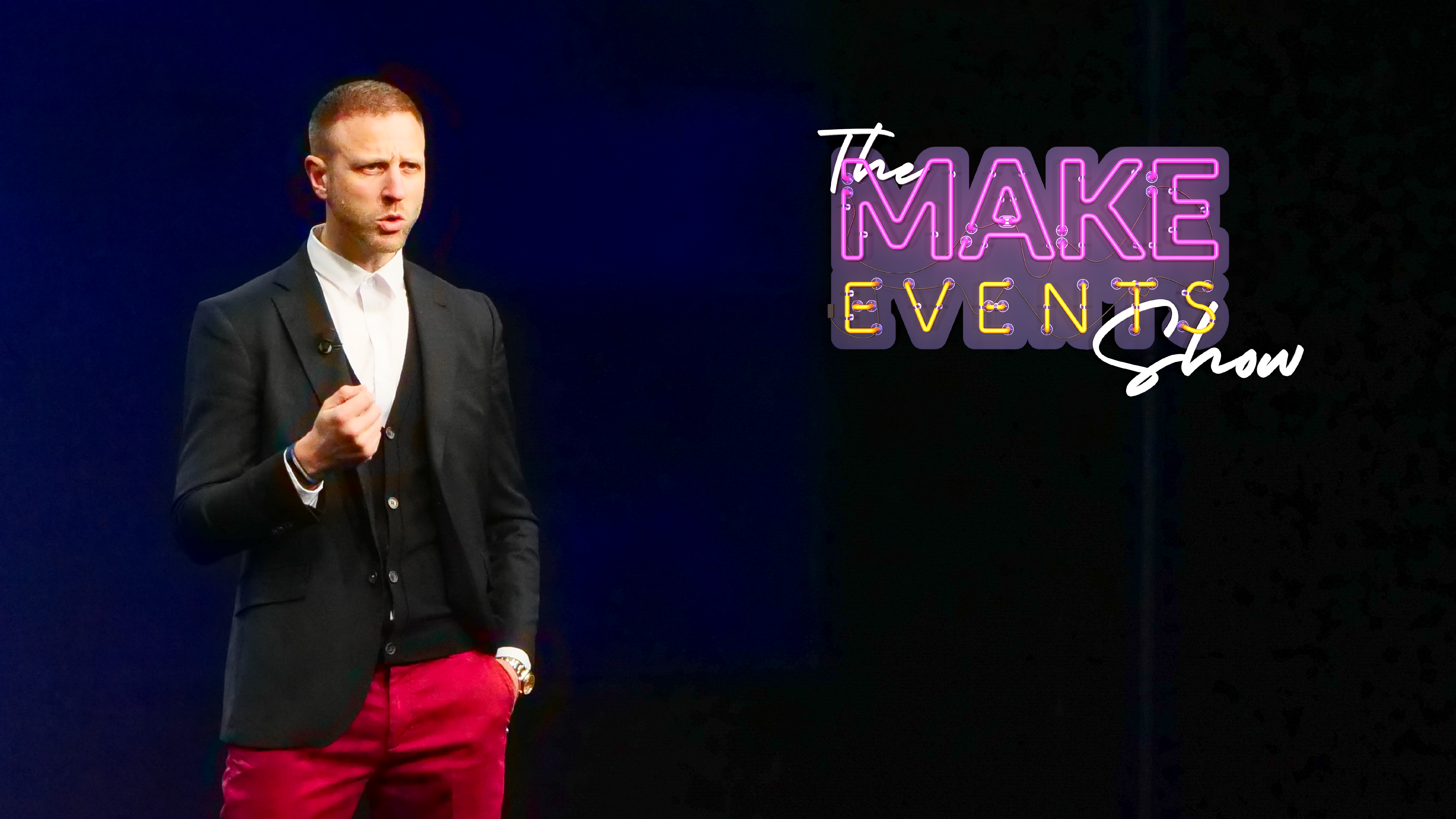 Make Events | Brand Management, Corporate and Virtual Events Company | Paul and logo