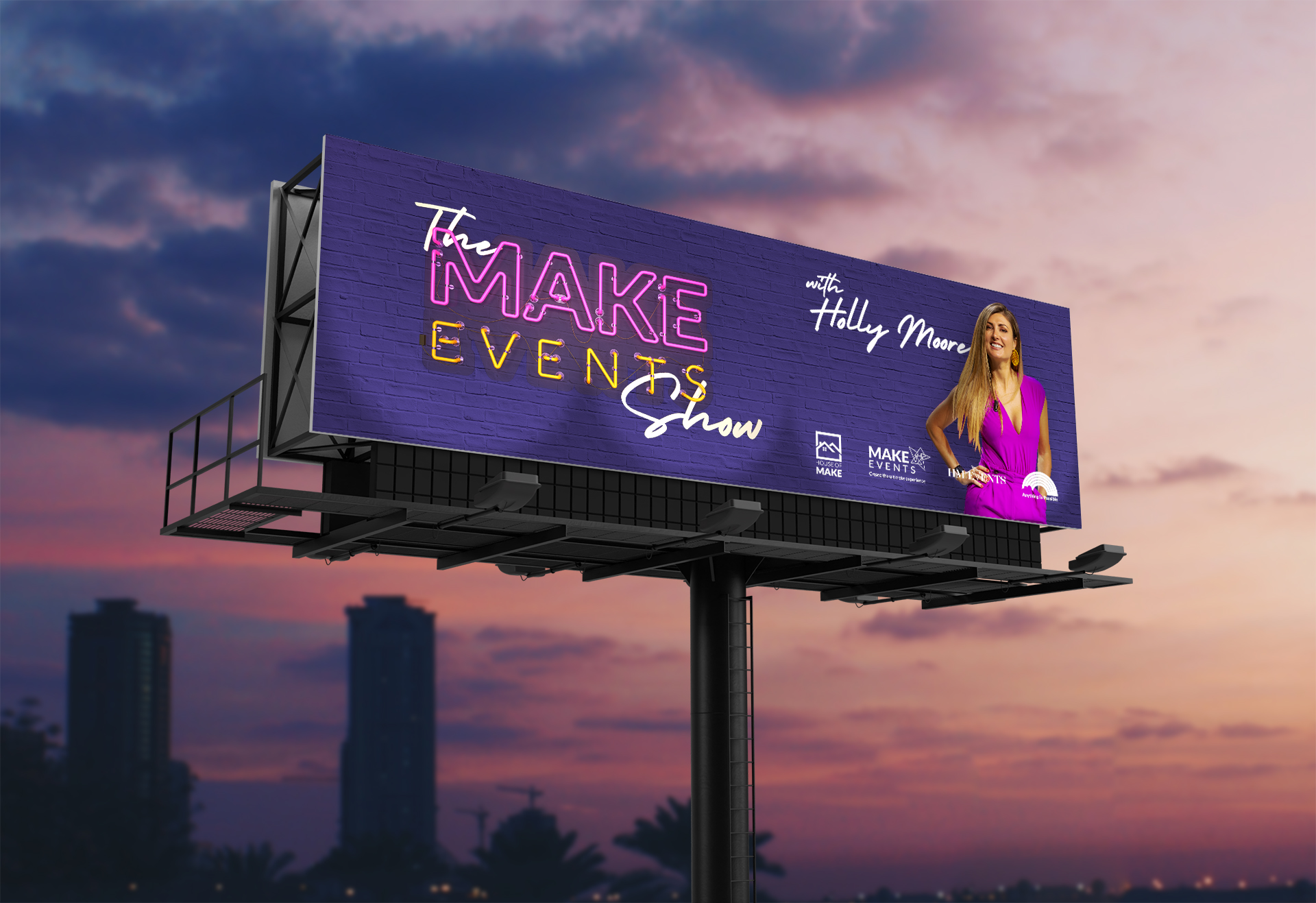 Make Events | Brand Management, Corporate and Virtual Events Company | Make Events Show Billboard