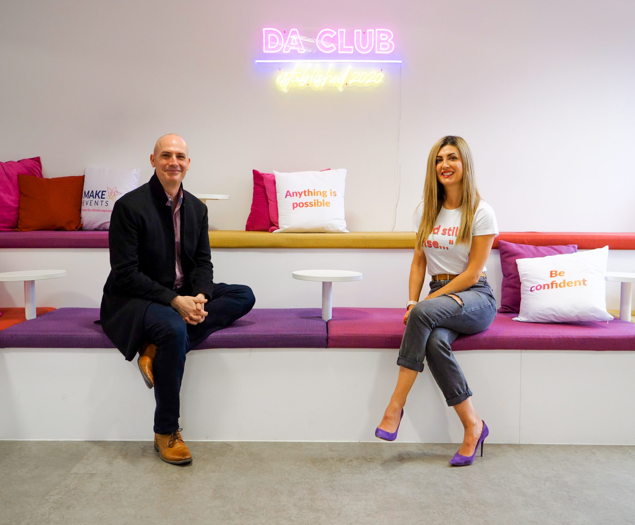 Make Events | Brand Management, Corporate and Virtual Events Company | Holly & Nick