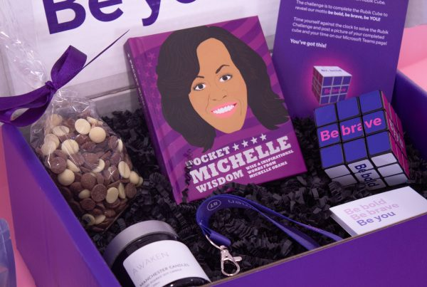 Make Events | Brand Management, Corporate and Virtual Events Company | Purple gift box
