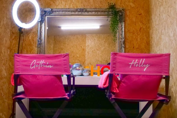 Make Events | Brand Management, Corporate and Virtual Events Company | Gethin and Holly directors' chairs
