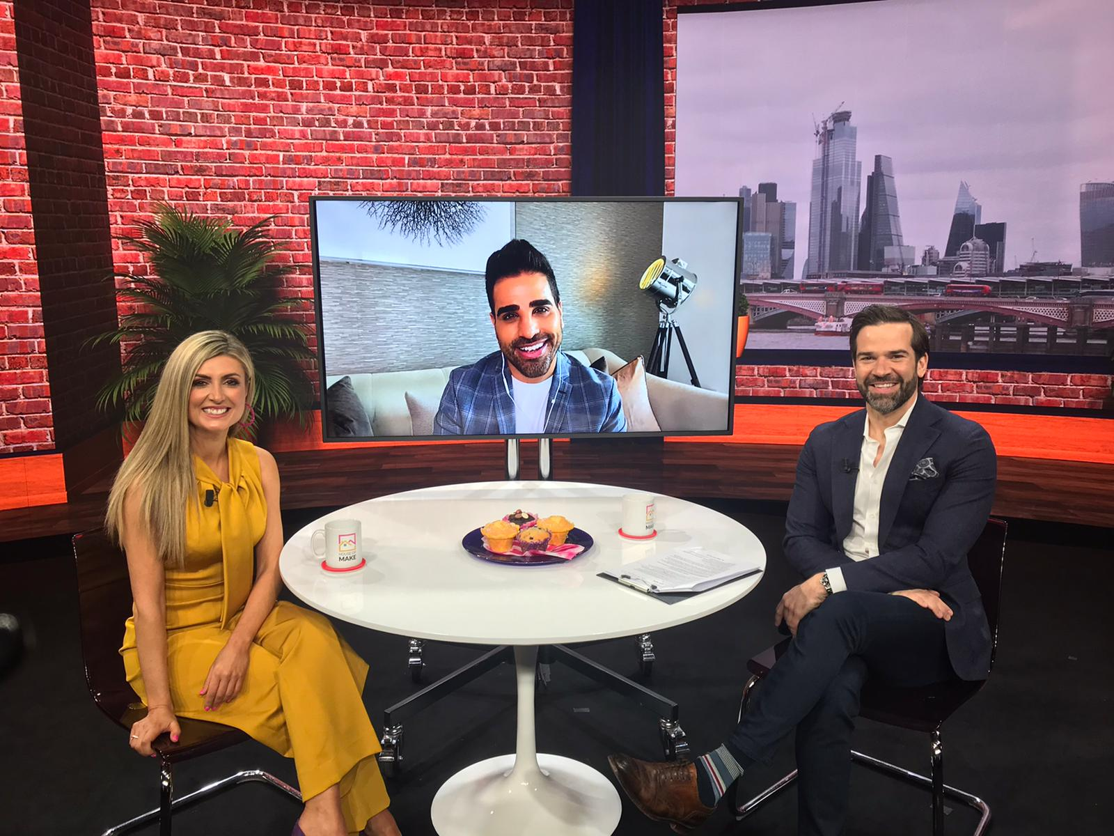 Make Events | Brand Management, Corporate and Virtual Events Company | Dr Ranj on screen
