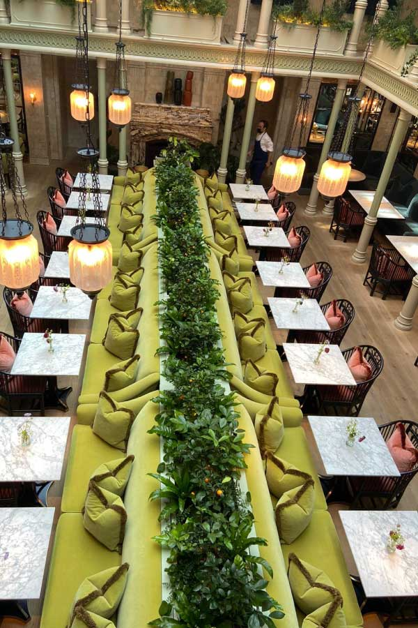 Make Events | Brand Management, Corporate and Virtual Events Company | Seating at Nomad